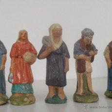 Figuras de Belén: FIGURAS PASTORES BELEN. Lote 46697977