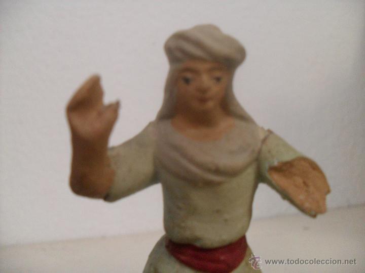 Figuras de Belén: FIGURA BELEN BARRO - Foto 3 - 46698670