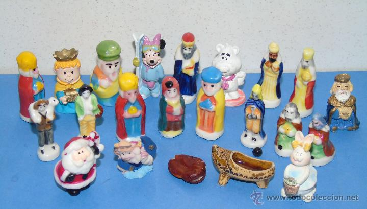 22 figuras de cer mica de rosc n de reyes reye comprar for Figuras ceramica
