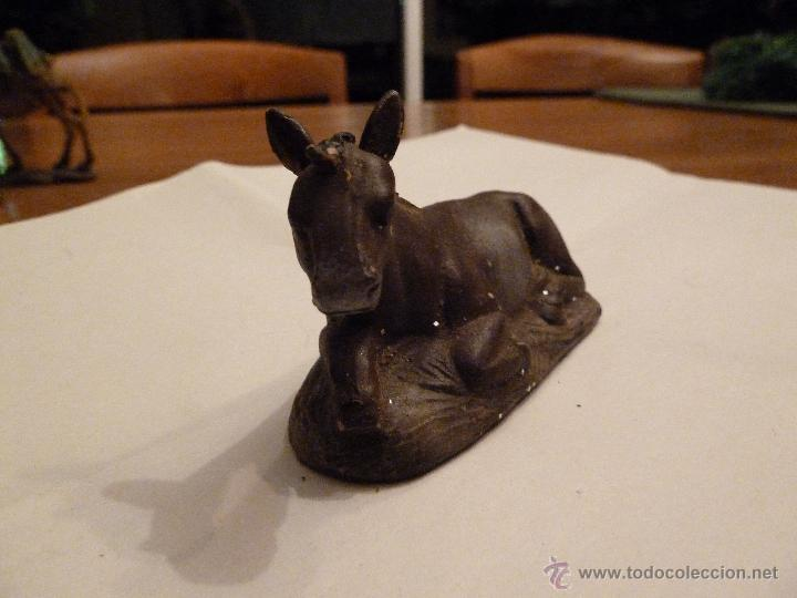 Figuras de Belén: figura belen mula de PORCELANA 9 cm - Foto 3 - 46776931