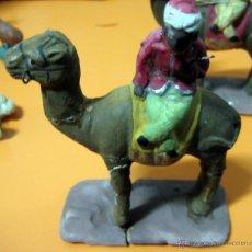 Figuras de Belén: FIGURA BARRO - BELEN - REY - ANTIGUO . Lote 47393451