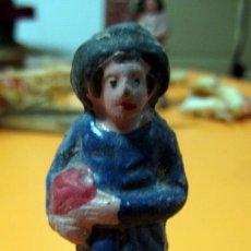 Figuras de Belén: FIGURA BARRO - BELEN - ANTIGUO . Lote 47394081