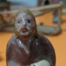 Figuras de Belén: FIGURA BARRO - BELEN - ANTIGUO . Lote 47394144
