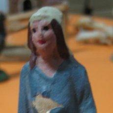 Figuras de Belén: FIGURA BARRO - BELEN - ANTIGUO . Lote 47394227