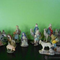 Figuras de Belén: FIGURAS PARA BELEN EN CERAMICA. Lote 47976601