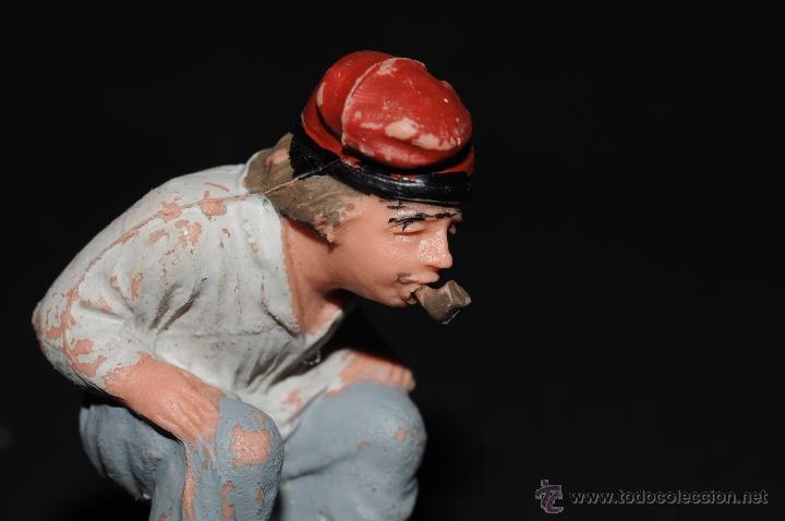 Figuras de Belén: FIGURA DE BELEN O PESEBRE EN PLASTICO, CAGANER - Foto 4 - 48918886