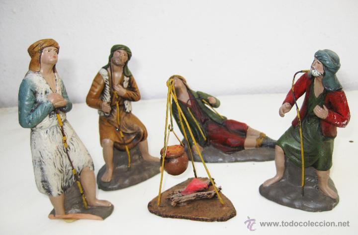 Preciosa reunion de pastores figuras belen anti comprar for Amazon figuras belen