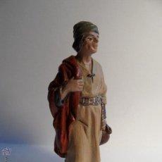 Figuras de Belén: PASTOR. BELÉN/NACIMIENTO/PESEBRE. J. MAYO.. Lote 50696756