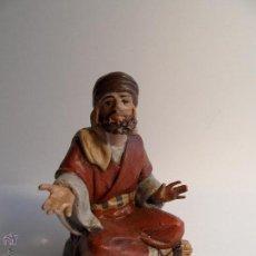 Figuras de Belén: PASTOR. BELÉN/NACIMIENTO/PESEBRE. J. MAYO.. Lote 50697129