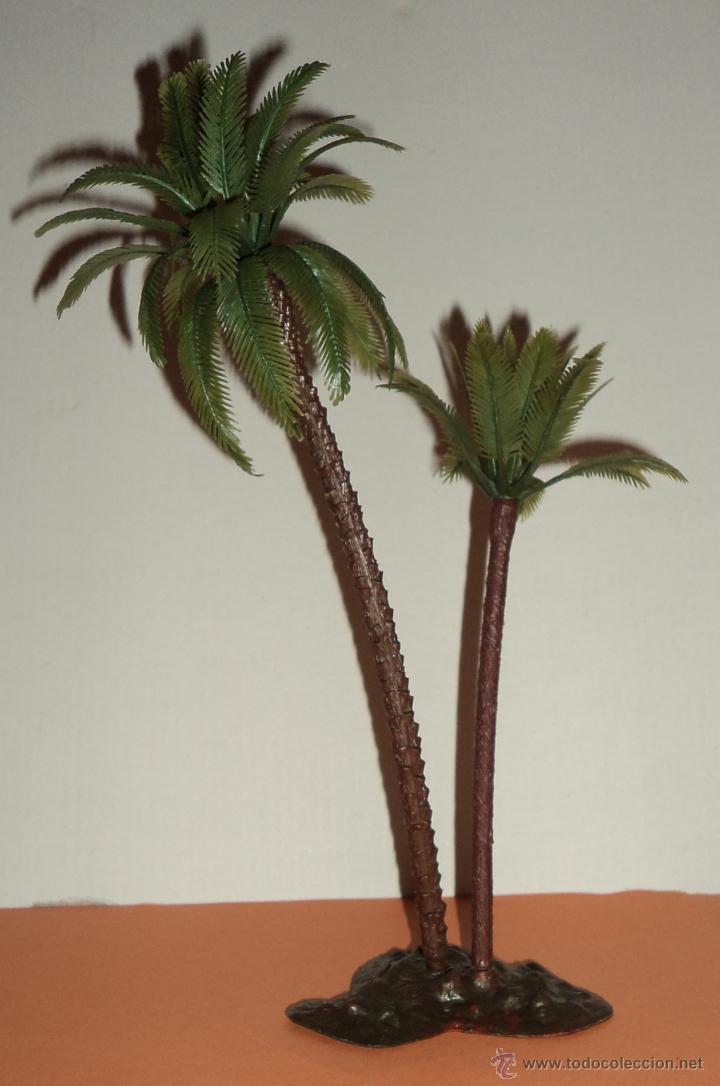 Figura en pl stico bel n conjunto de palmeras comprar - Palmeras de plastico ...