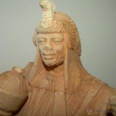 Figuras de Belén: ANTIGUA Y PRECIOSA FIGURA DE TERRACOTA.DE GRAN CALIDAD POR SU ELAVORACION A MANO....PIEZA DE MUSEO.. Lote 50998382