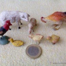 Figuras de Belén: LOTE ANIMALES DE PESEBRE. Lote 51219892