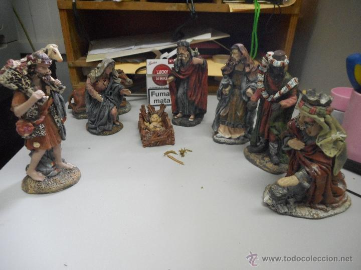 FIGURA PESEBRE NACIMIENTO PESEBRE GRANDES (Coleccionismo - Figuras de Belén)