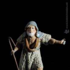 Figuras de Belén: FIGURA DE BELEN O PESEBRE EN TERRACOTA PASTOR. Lote 51646570
