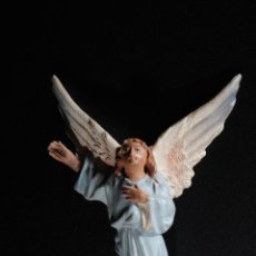 Figuras de Belén: FIGURA DE BELEN O PESEBRE EN TERRACOTA ANGEL. Lote 51732901