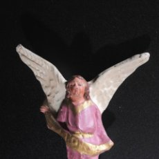Figuras de Belén: FIGURA DE BELEN O PESEBRE EN TERRACOTA ANGEL. Lote 51779500