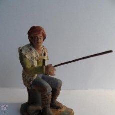 Figuras de Belén: PESCADOR. FIGURA BELÉN/NACIMIENTO/PESEBRE. JIMBEC SEVILLA. Lote 52460769