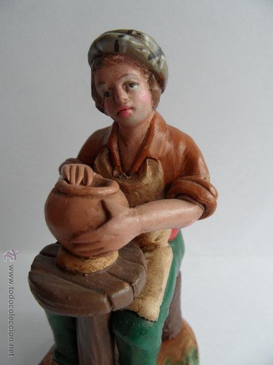 Figuras de Belén: Alfarero. Figura Belén/Nacimiento/Pesebre. José Lozano. Granada - Foto 7 - 52461704