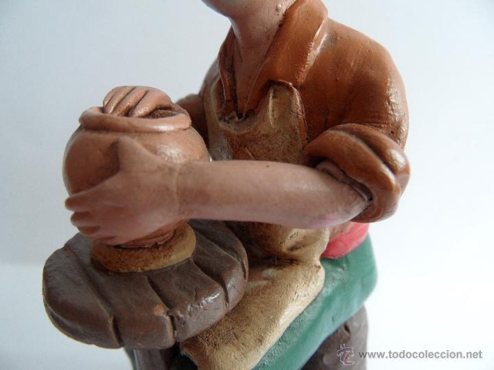 Figuras de Belén: Alfarero. Figura Belén/Nacimiento/Pesebre. José Lozano. Granada - Foto 8 - 52461704