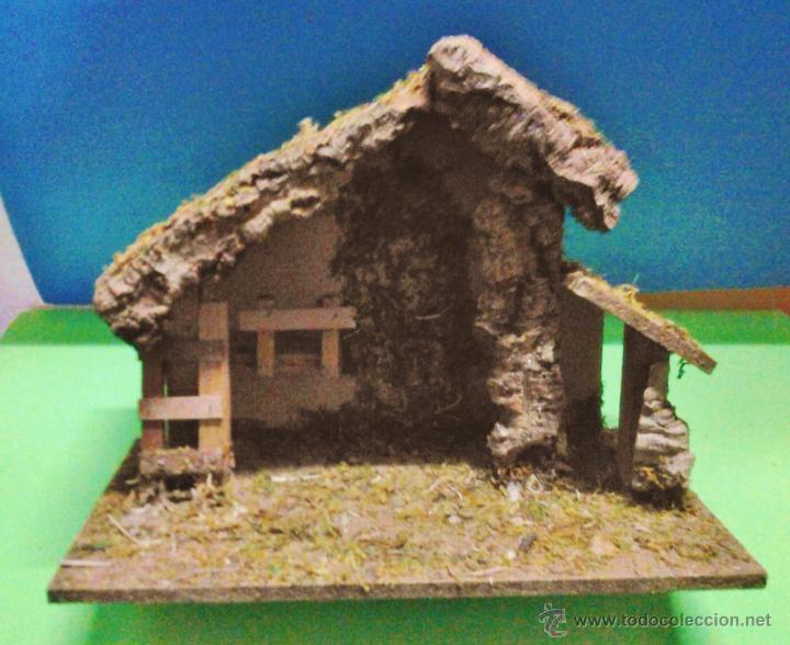 5166eaca540 Figuras de belén navidad belen portal madera corcho artesanal sin jpg  720x588 Como hacer un portal