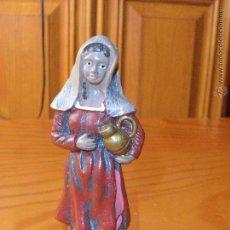 Figuras de Belén: FIGURA ARTESANAL, - FIGURA ANTIGUA BELEN NACIMIENTO PESEBRE. Lote 52746761