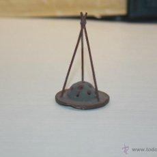 Figuras de Belén: FIGURA DE BELÉN DE BARRO, FUEGO, 7,50 CM DE ALTO. Lote 52876589