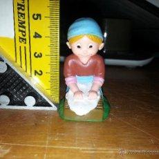 Figuras de Belén: RARA FIGURA DE BELEN MUÑECO GOMA - OFERTA POR LOTES DEL MISMO JUEGO - VER MAS EN TIENDA. Lote 53053124