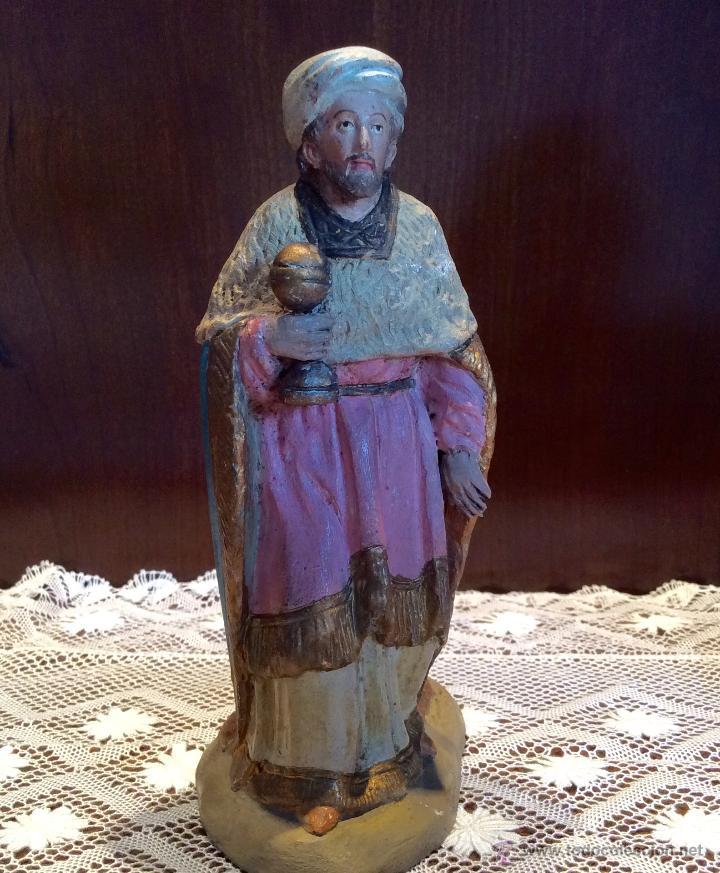 Figuras de Belén: Tres Reyes Magos antiguos - Foto 4 - 53507532