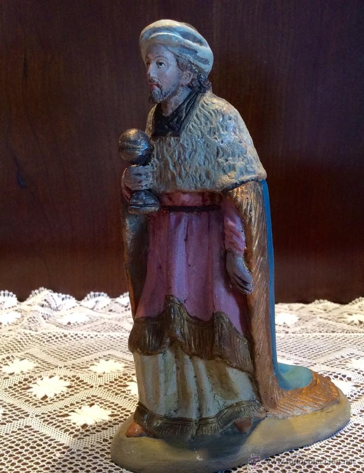 Figuras de Belén: Tres Reyes Magos antiguos - Foto 5 - 53507532