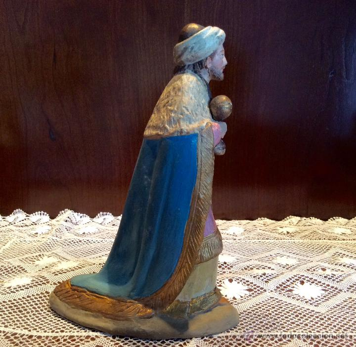 Figuras de Belén: Tres Reyes Magos antiguos - Foto 8 - 53507532