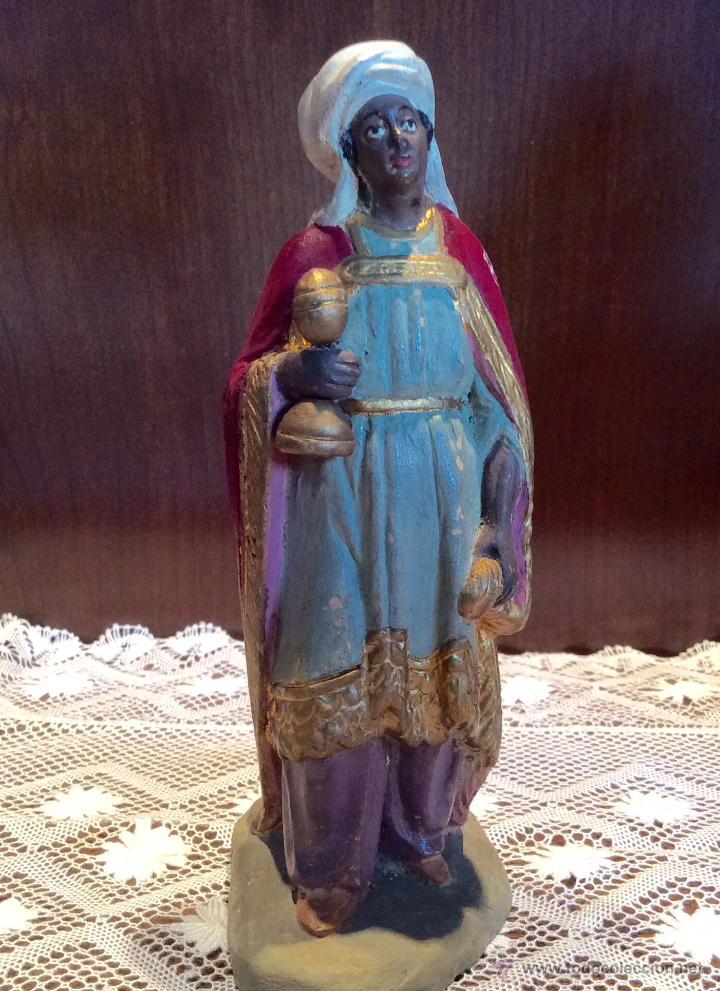 Figuras de Belén: Tres Reyes Magos antiguos - Foto 9 - 53507532