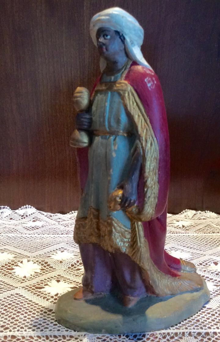 Figuras de Belén: Tres Reyes Magos antiguos - Foto 10 - 53507532