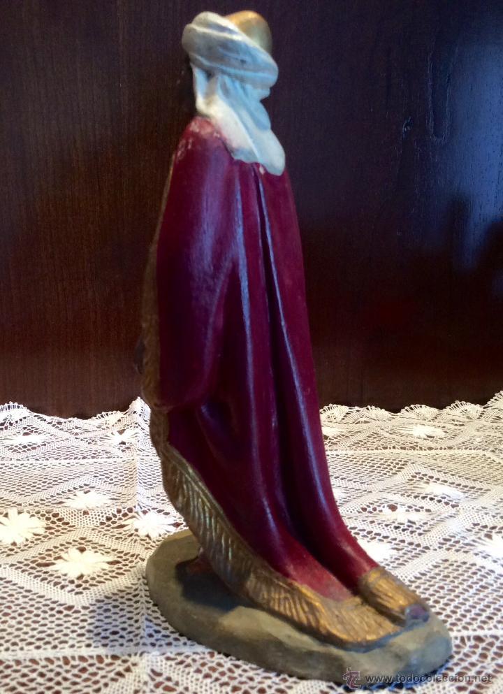 Figuras de Belén: Tres Reyes Magos antiguos - Foto 11 - 53507532