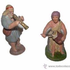 Figuras de Belén: ANTIGUAS Y BONITAS FIGURAS DE TERRACOTA.. Lote 29071018