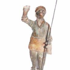 Figuras de Belén: ANTIQUISIMA FIGURA DE BELEN EN BARRO. Lote 26627752