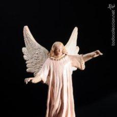 Figuras de Belén: FIGURA DE BELEN O PESEBRE EN TERRACOTA ANGEL. Lote 55392361