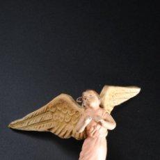 Figuras de Belén: FIGURA DE BELEN O PESEBRE EN TERRACOTA ANGEL. Lote 55392410
