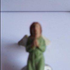 Figuras de Belén: ANTIGUA FIGURA DE BELEN , EN TERRACOTA - ANGEL - DE MEDIDAS 7 CTMS DE ALTURA X 3.5 ANCHO. Lote 57611951