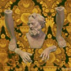 Figuras de Belén: PIEZAS PARA MONTAR SAN JOSE PARA BELEN NAPOLITANO 35 CTM. Lote 93039119