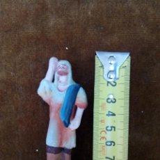 Figuras de Belén: FIGURA DE BARRO O TERRACOTA. PASTOR. Lote 58193163