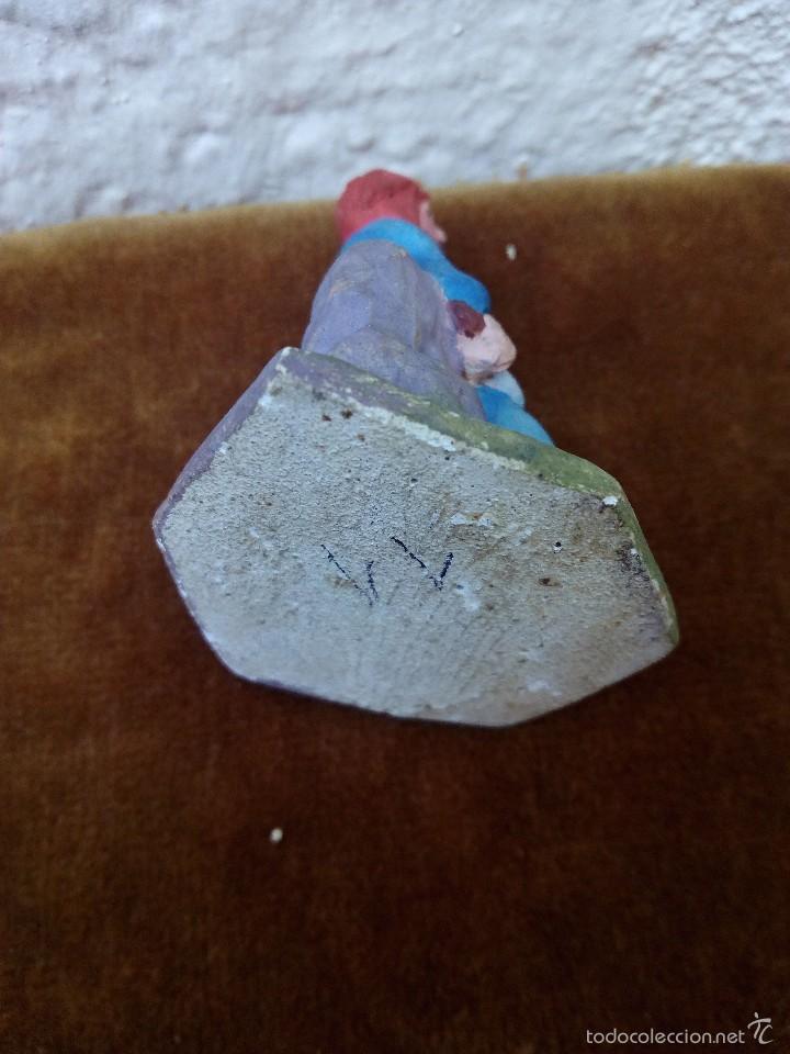 Figuras de Belén: Figura de barro o terracota. Pastor - Foto 3 - 58193163