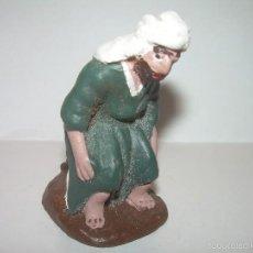 Figuras de Belén: FIGURA DE TERRACOTA....CAGANE - CAGANER - CAGON.. Lote 58334276