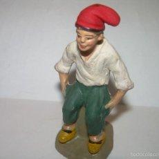 Figuras de Belén: FIGURA DE TERRACOTA....CAGANE - CAGANER - CAGON.. Lote 58334415
