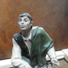 Figuras de Belén: FIGURA DE BELÉN MURCIANA TERRACOTA XIX . Lote 58559347