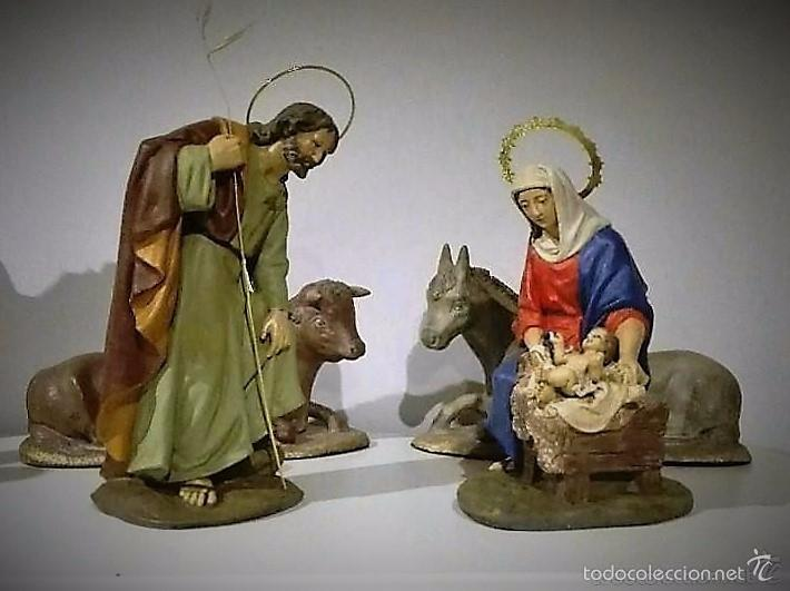 Figuras de nacimiento belen pesebre navidad comprar for Amazon figuras belen