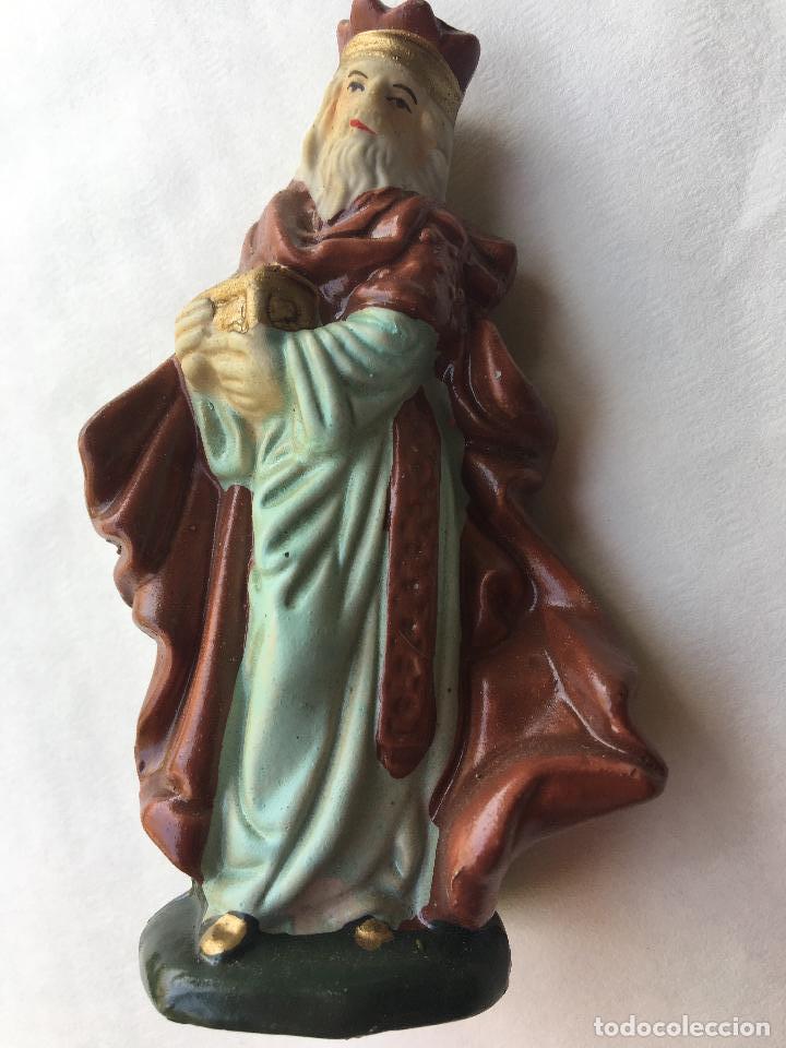 Figura cer mica bel n o nacimiento 10 5 cm rey comprar for Figuras ceramica