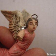 Figuras de Belén: FIGURA DE BELEN TERRACOTA ANGEL ANGELITO BARRO PINTADA A MANO CIRCULO ANGEL MARTINEZ. Lote 64575843