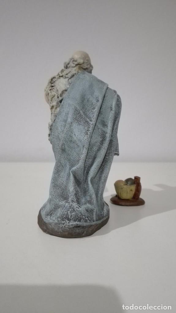 Figuras de Belén: Figura de pastor adorando para Belén, pesebre, nacimiento - Foto 2 - 64815263
