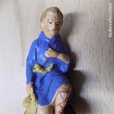 Figuras de Belén: FIGURA BELEN BARRO 6,5CM. Lote 65905486