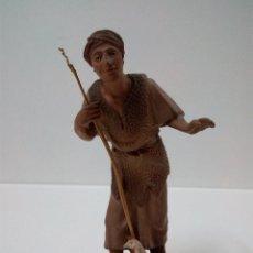Figuras de Belén: MUY ANTIGUA Y PRECIOSA FIGURA DE BELEN . REALIZADA POR CASTELLS AÑOS 40 / 50. Lote 67121469